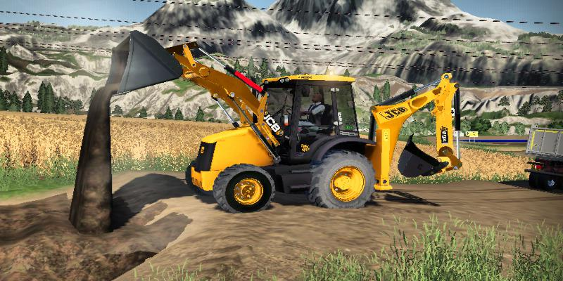 Ls2019 Backhoe Loader Jcb 3cx Eco V1 5