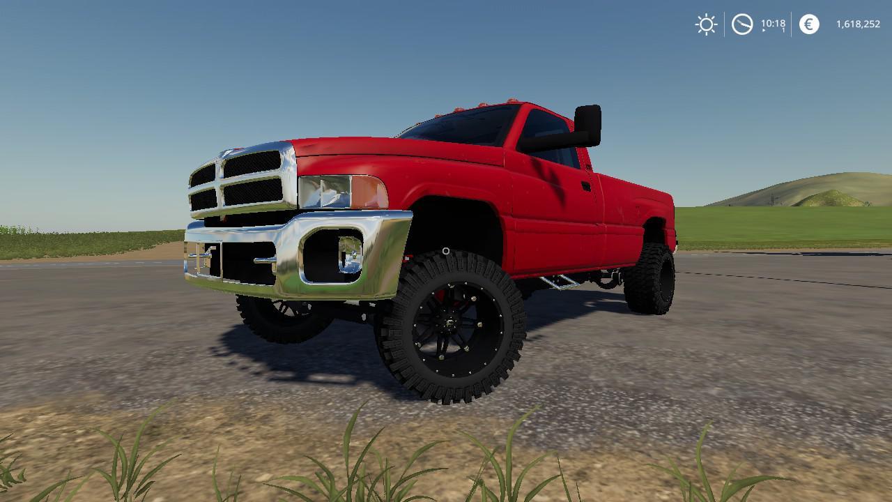 Car 2nd Gen Cummins With Ford Bumper V1 0 0 0 Farming Simulator 19 Mod Ls19 Mod Download